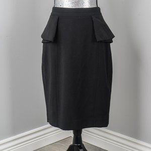 NWT White House Black Market peplum skirt - 10